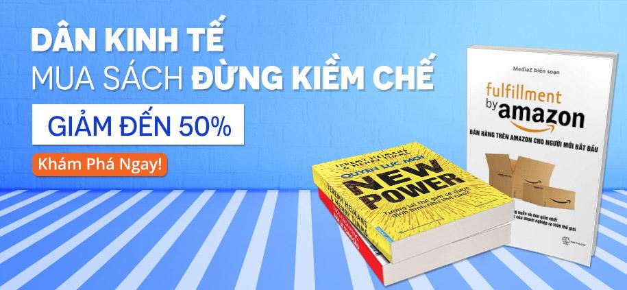 Sách kinh tế - giảm đến 50%