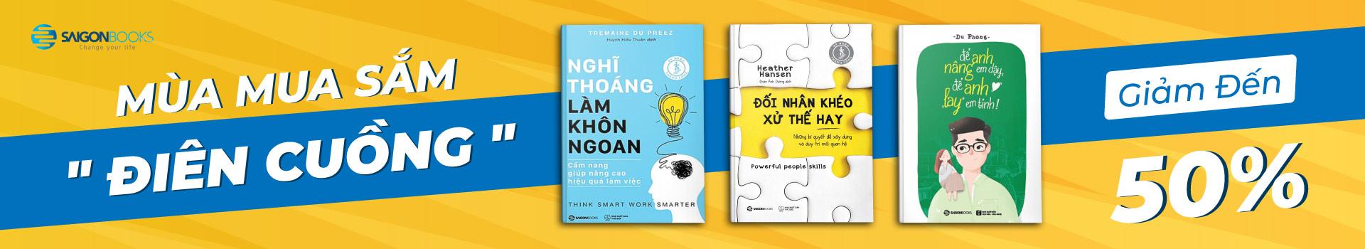 Chương trình cùng NCC Saigonbooks