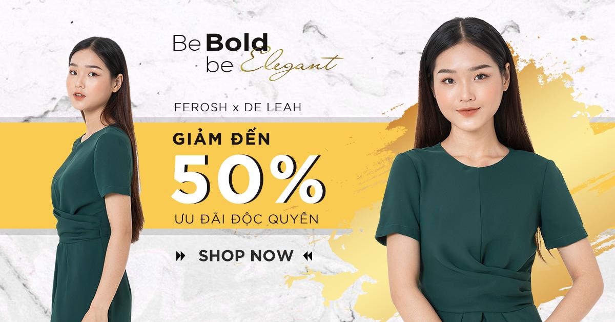 Khuyến mãi De Leah – Sale up to 50%