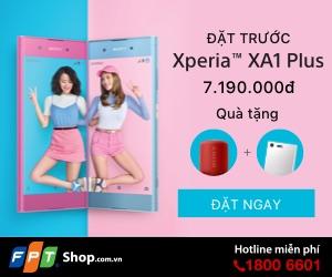 Đặt trước Sony Xperia XA1 PLus - Rước ngay Loa Xịn