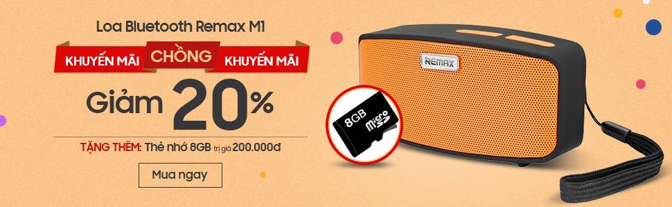Loa Bluetooth Remax RM-M1 Khuyến Mại Siêu Hot