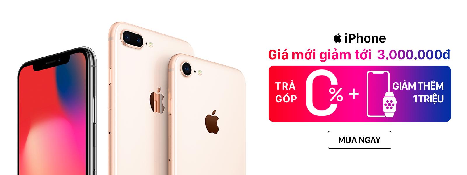 Hình ảnh Iphone - giảm tới 3 Triệu đồng