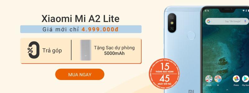 Hình ảnh Xiaomi Mi A2 Lite 4GB-64GB - Giảm 6% + tặng sạc dự phòng