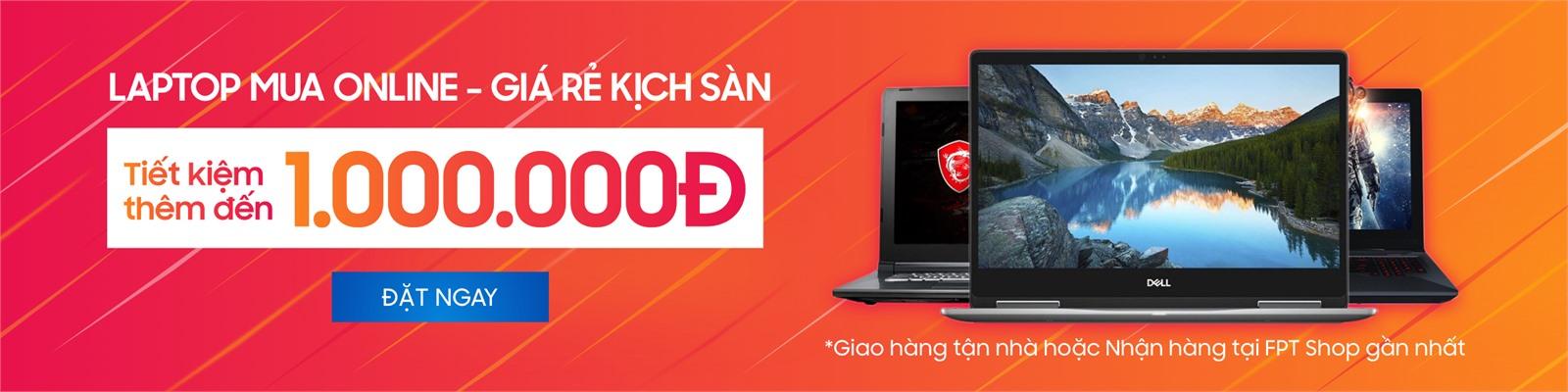 Hình ảnh Laptop mua online giá rẻ kịch sàn - GIảm đến 1.000.000