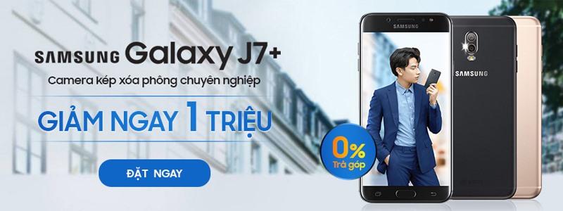 www.123nhanh.com: Chương Trình Ưu Đãi Galaxy J7 Plus - Giảm Ngay 1 Triệu