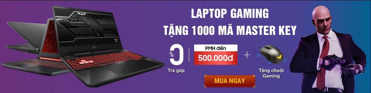 LAPTOP CORE I7 (Tặng 1000 suất Game Master Key Intel )