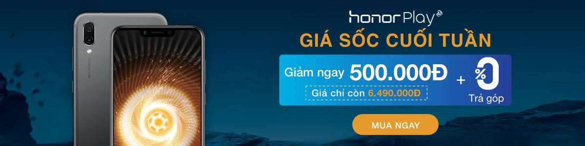 Hình ảnh HONNOR PLAY - Giảm ngay 500,000đ + Trả góp 0%