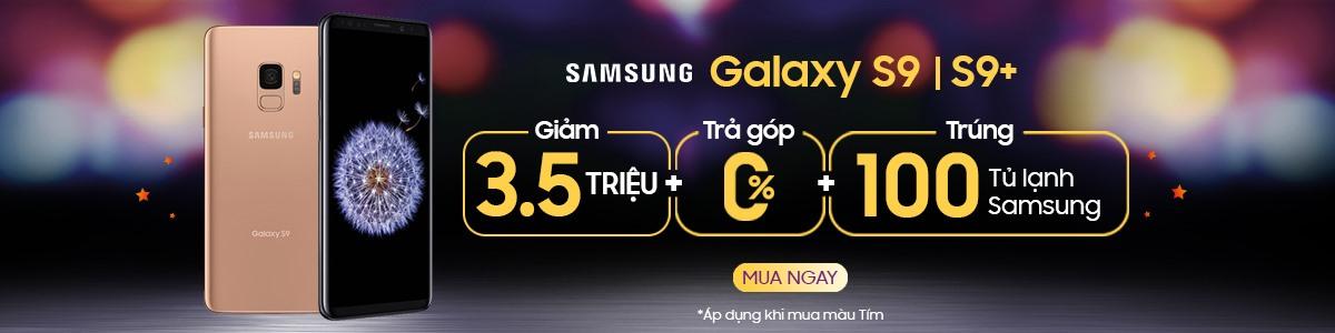 Hình ảnh SAMSUNG GALAXY S9+ Giảm ngay 4,500,000đ + Trả góp 0%