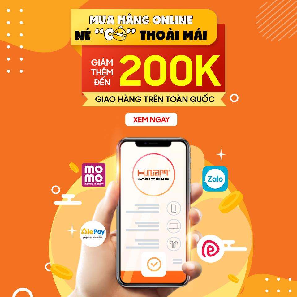 Mua Sắm Online – Giảm Ngay Lên Đến 200.000đ