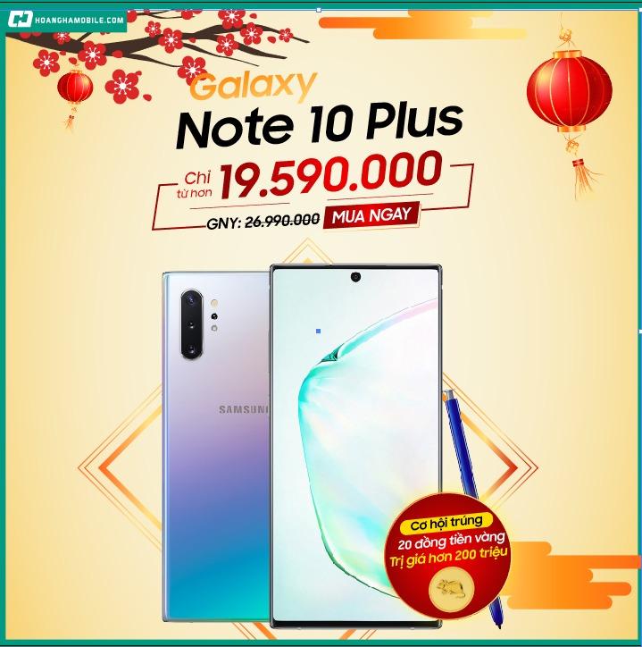 Khuyến mãi Samsung Galaxy Note 10 Plus – Chính hãng chỉ 19.590.000đ