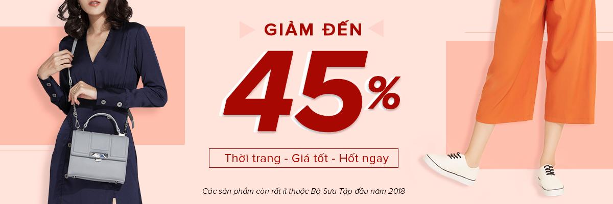 Thời trang giá tốt Giảm giá lên tới 45%