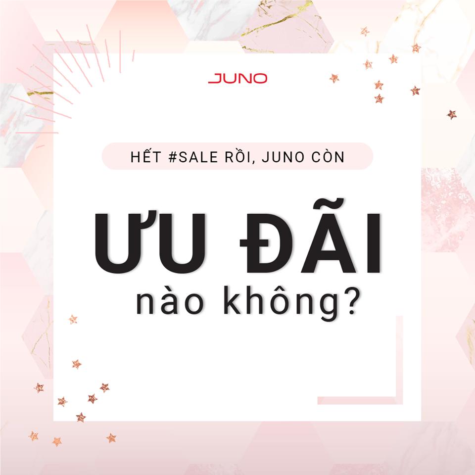 Ưu đãi ngày thứ Ba hằng tuần giảm giá tại juno-1.myharavan.com