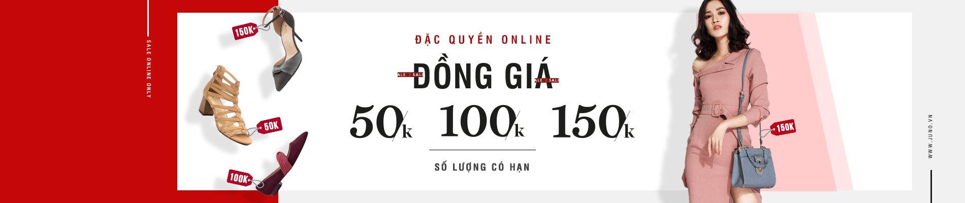 Đặc quyền Online - Đồng giá 50K, 100K, 150K