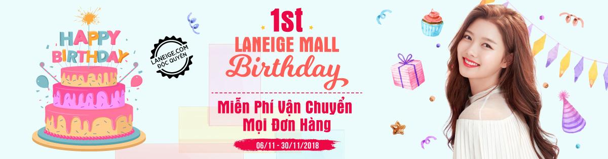Mừng sinh nhật 1 tuổi - Miễn phí vận chuyển mọi đơn hàng