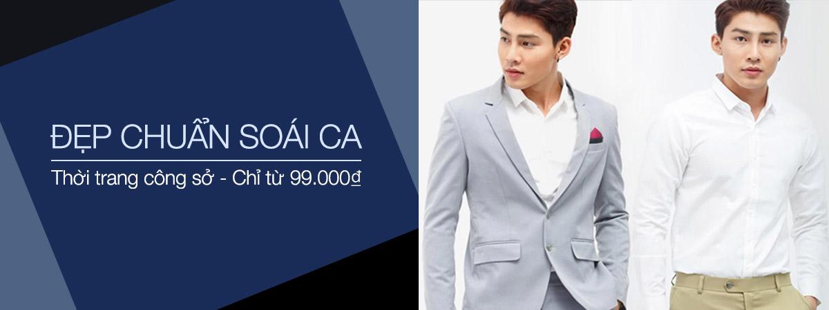 Thời trang nam công sở - Giá chỉ từ 99K