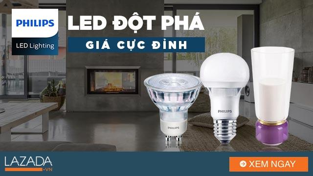 Philips Lighting - LED Đột Phá
