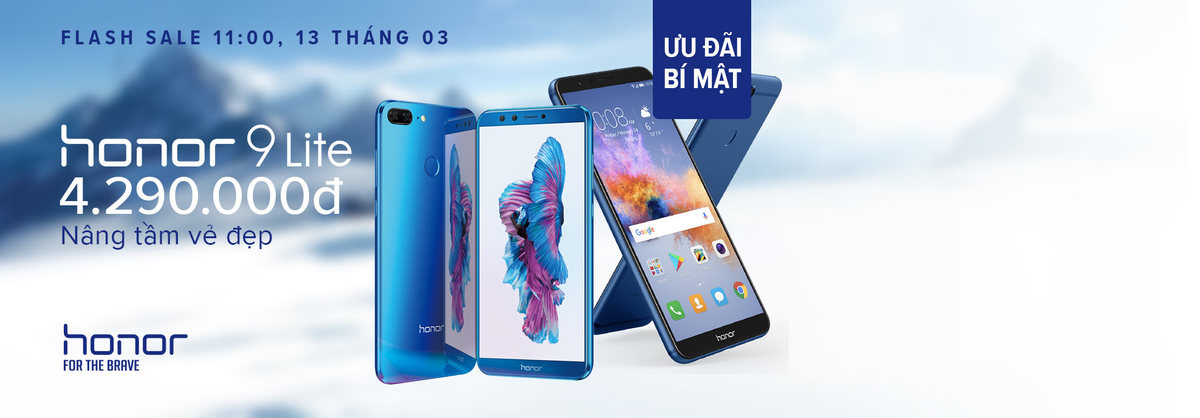 Điện thoại Huawei Honor 9 Lite mở bán