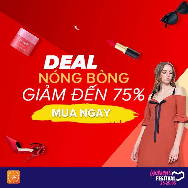 Deal nóng bỏng giảm đến 75%