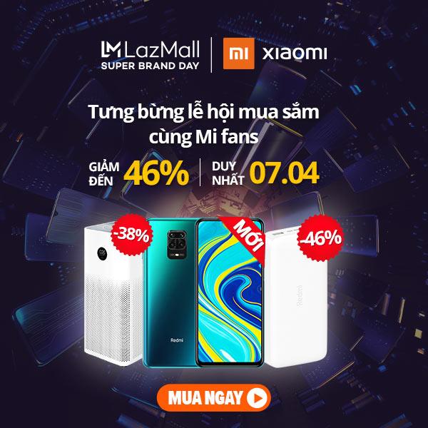 Ngày hội Siêu Thương Hiệu của Xiaomi - Nhiều ưu đãi cực khủng