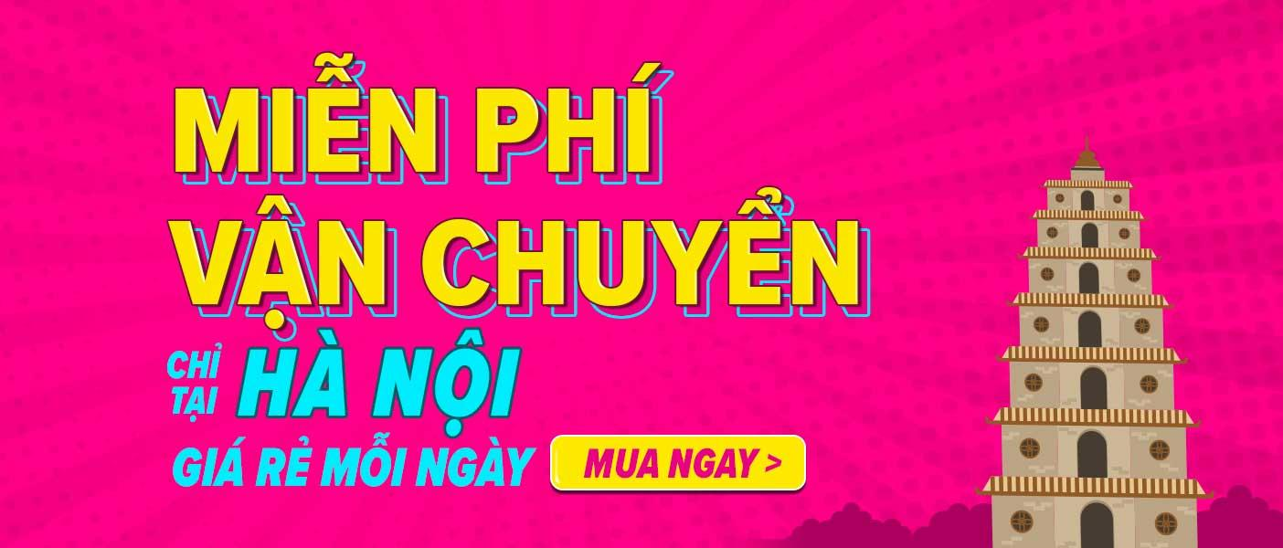 Miễn phí vận chuyển tại Hà Nội