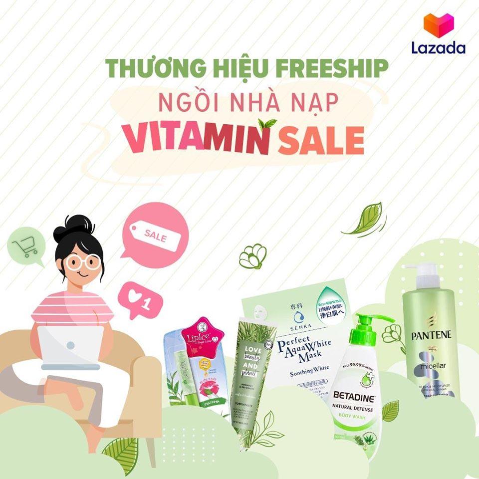 Thương hiệu Freeship – Ngồi nhà nạp Vitamin Sale