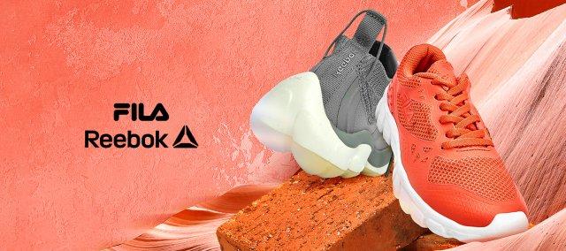 Reebok & Fila: Giày Thể Thao Nam Nữ