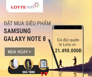Đặt trước Samsung Galaxy Note 8 nhận ngay quà siêu khủng
