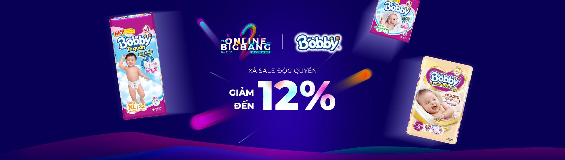 Bobby - Giảm giá đến 12%