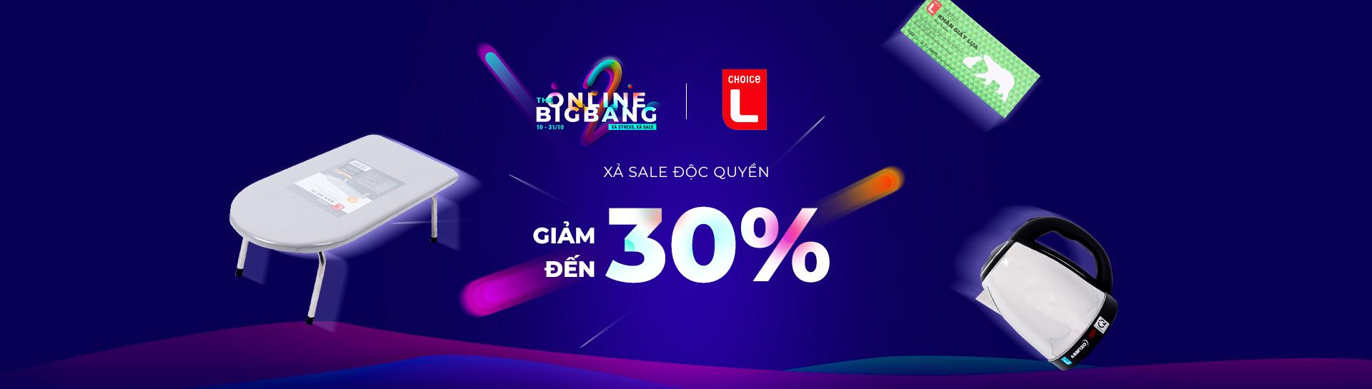 Choice L - Giảm giá đến 30%