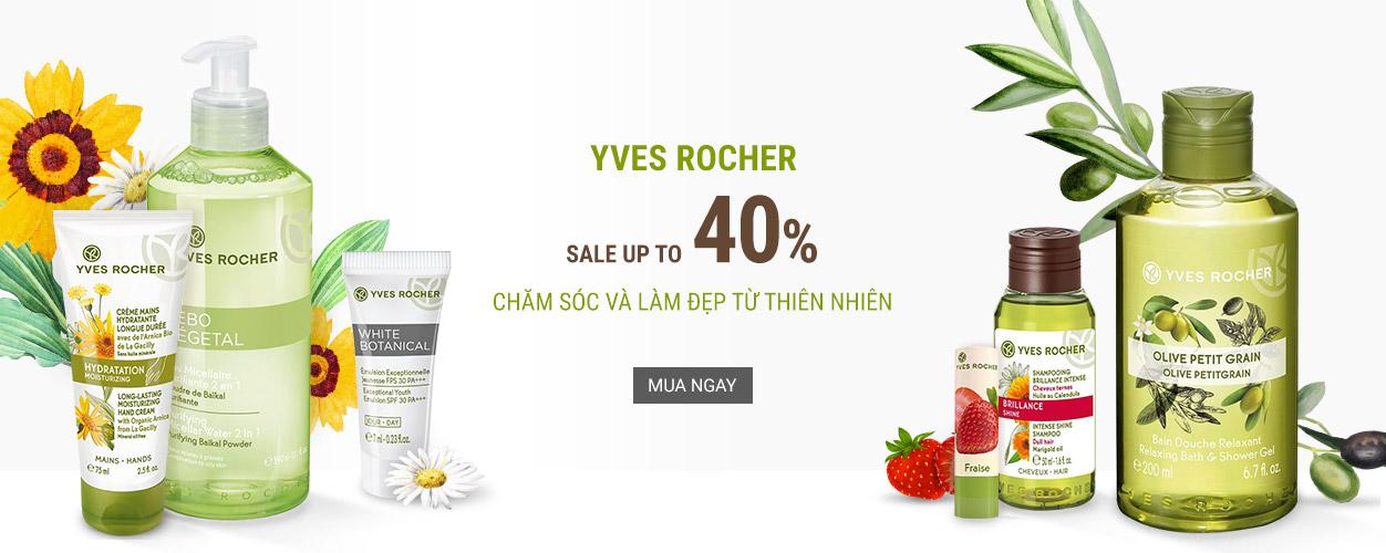 Yes Rocher - giảm đến 40%