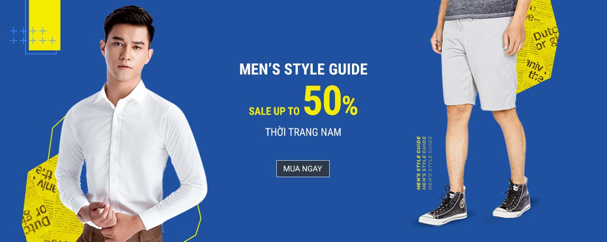 Men's Style Guide - Giảm đến 50%