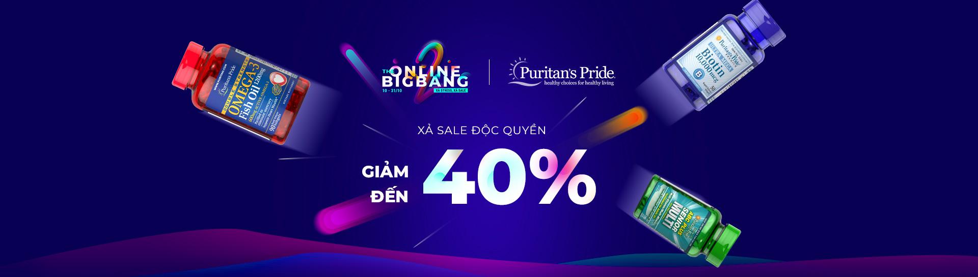 Hình ảnh Puritan's Pride - Giảm giá đến 40%