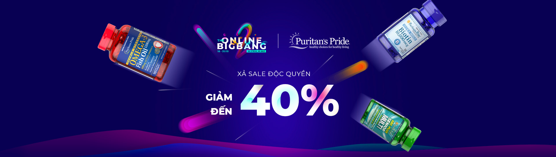 Puritan's Pride - Giảm giá đến 40%