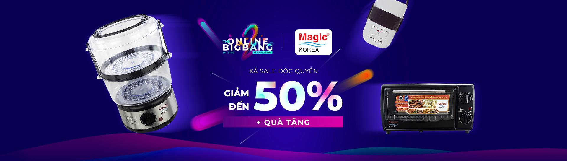 Magic Korea - Giảm giá đến 40% + Quà tặng