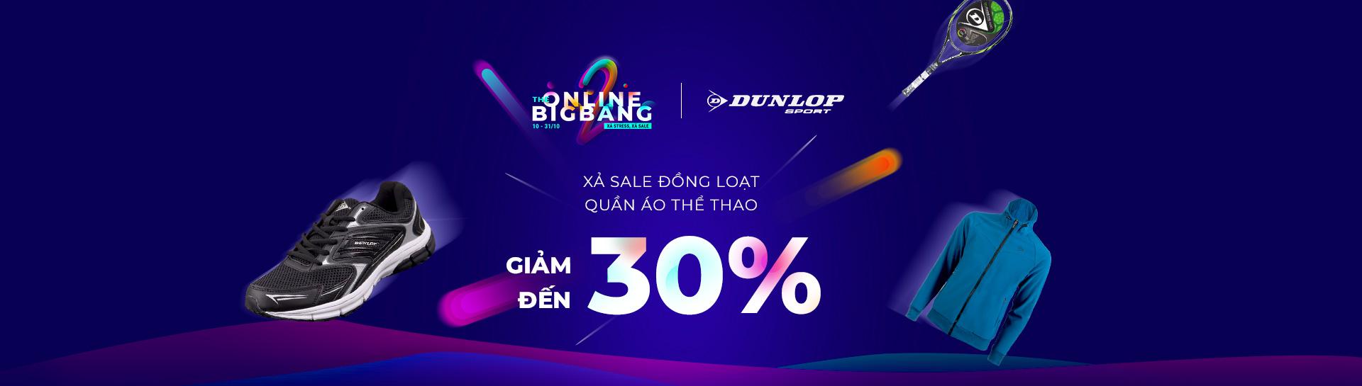 Dunlop - Giảm giá đến 30%