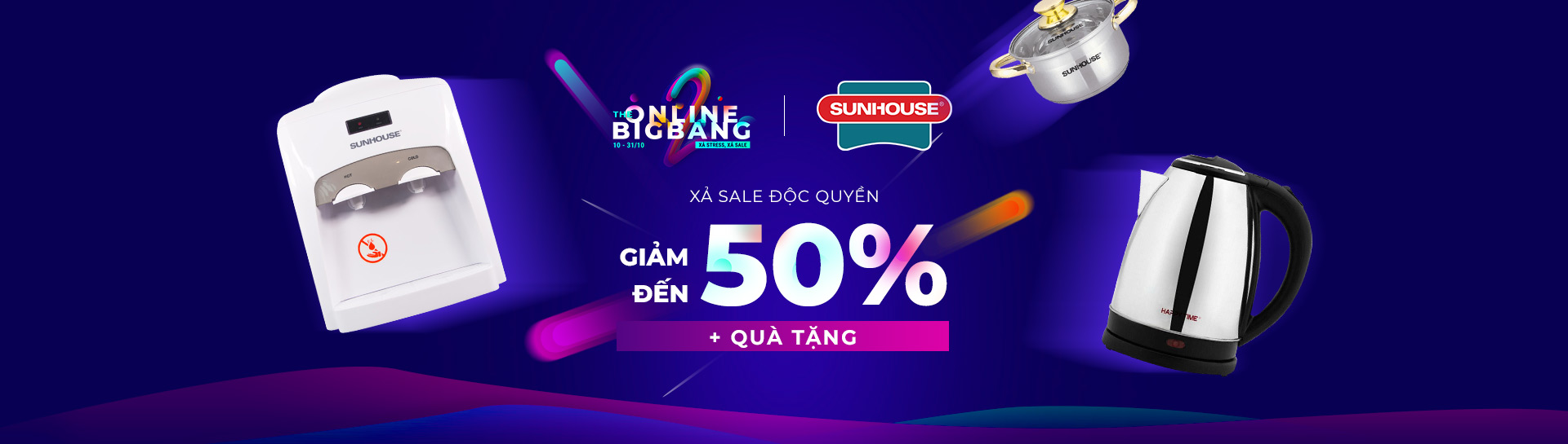 Sunhouse - Giảm giá đến 50%+ Deal độc quyền + Quà tặng