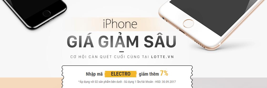 iPhone giá giảm sâu - Cơn lốc tháng 9