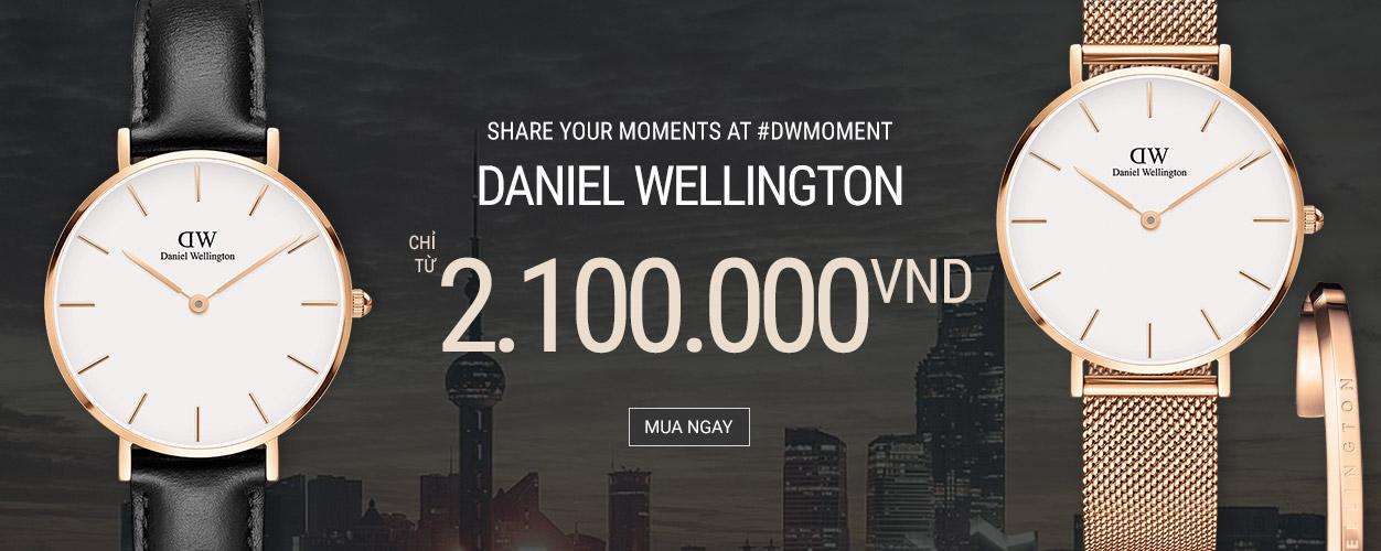 Daniel Wellington - giá chỉ 2.100.000VNĐ