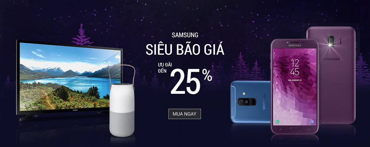 Samsung - Siêu bão giá