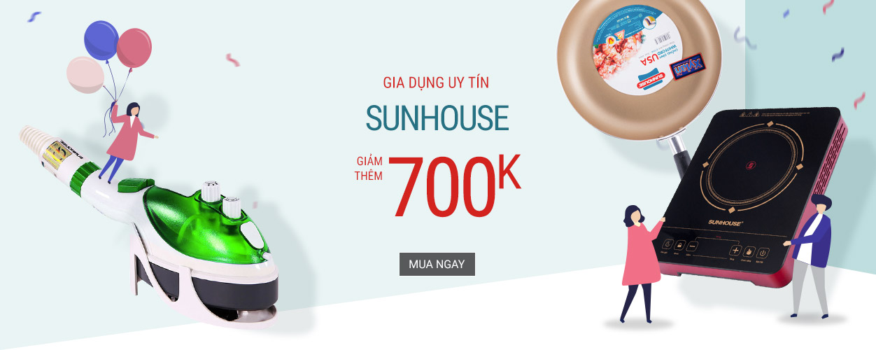 Sunhouse - giảm đến 700K