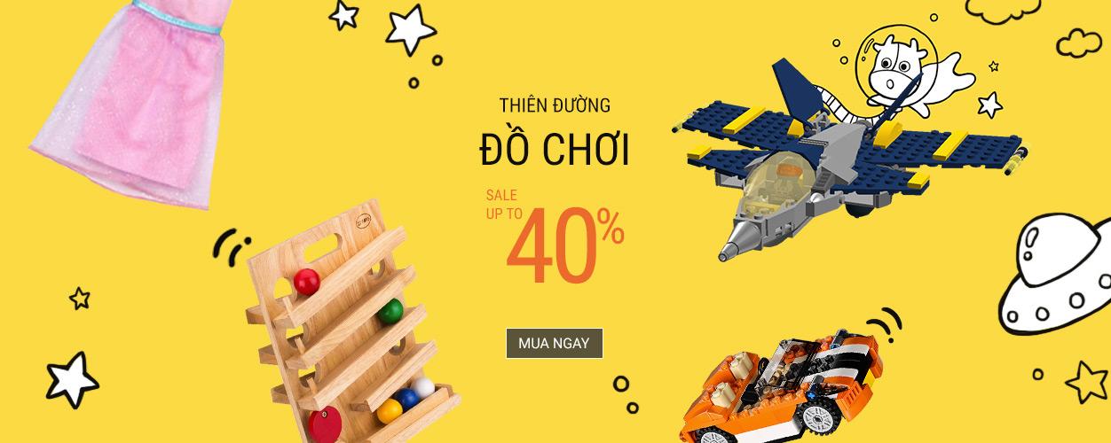Thiên đường đồ chơi - Sale tới 40%