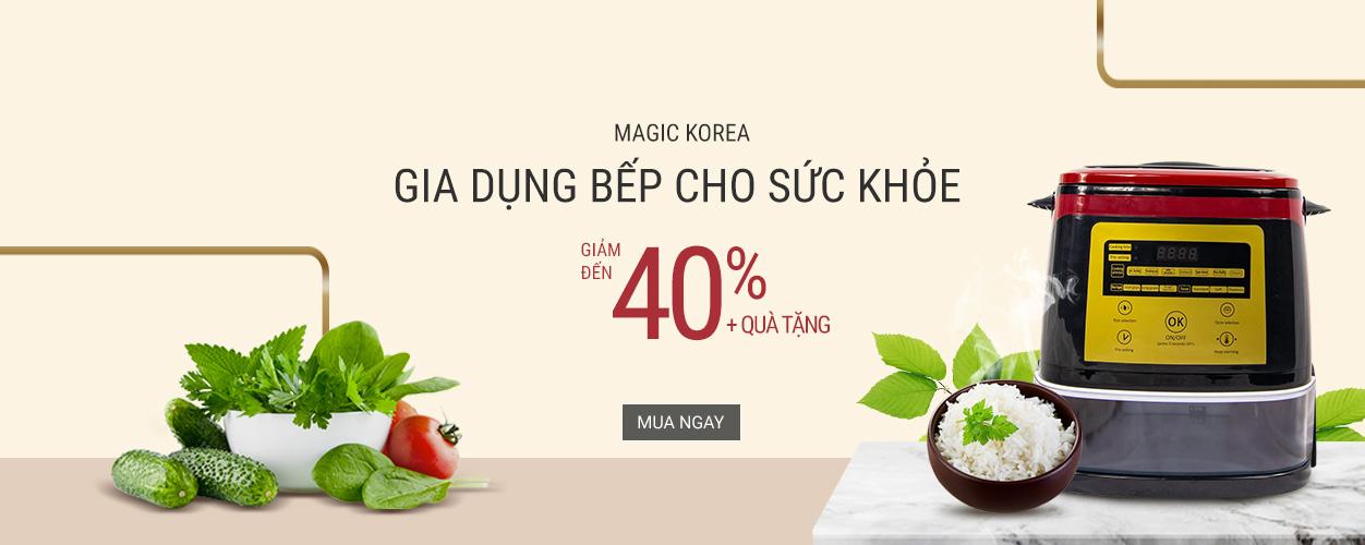 Magic Korea: giảm đến 40%