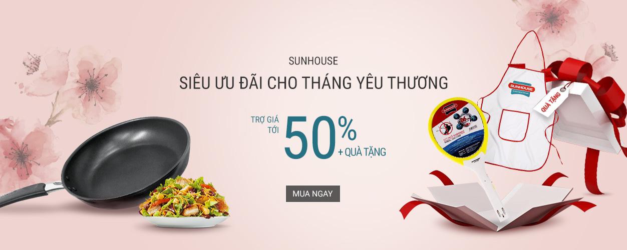Sunhouse: giảm đến 50% + quà tặng