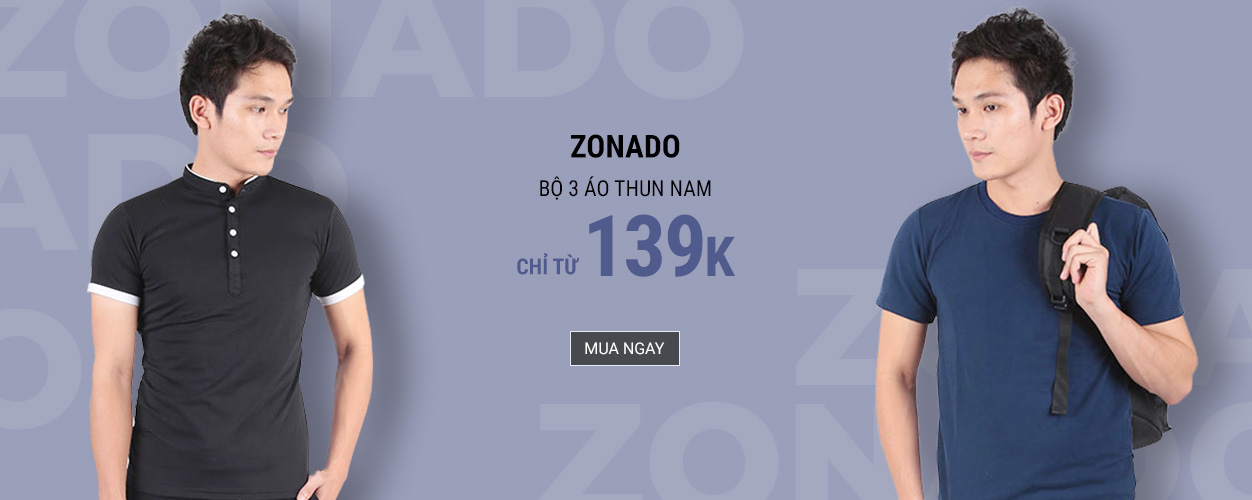 Zonado - Combo áo thun chỉ từ 139k