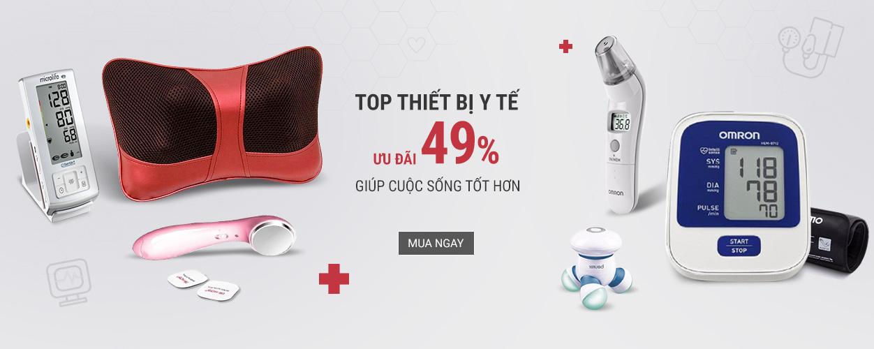 Top thiết bị y tế - Ưu đãi 49%