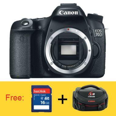 Máy ảnh Canon EOS 70D Body - Nhập mã để giảm thêm 7%
