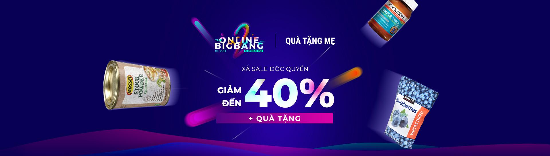 Quà Tặng Mẹ - Giảm giá đến 40% + Gift with purchase