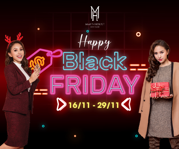 [MAY'S HOUSE] - HAPPY BLACK FRIDAY