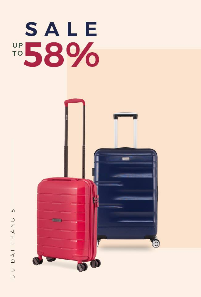 ƯU ĐÃI THÁNG 5 - SALE UP TO 58%