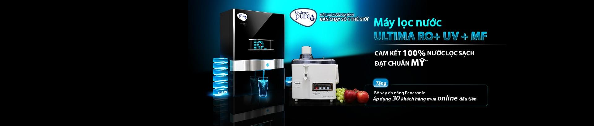 Máy lọc nước Unilever Pure-it - Nhận quà hấp dẫn